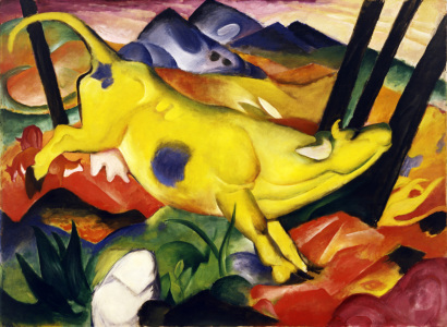 Picture no: 30005602 Franz Marc / The yellow cow / 1911 Created by: Marc, Franz