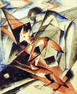 Picture no: 30005612 Franz Marc, Noah and the fox Created by: Marc, Franz