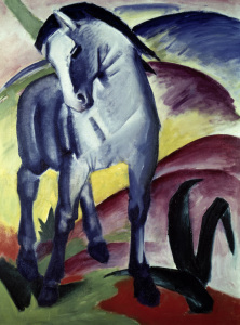 Picture no: 30005628 Franz Marc / Blue horse I / 1911 Created by: Marc, Franz