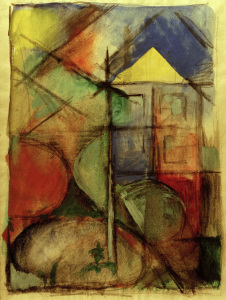 Picture no: 30005824 Marc / Abstract composition / 1913/14 Created by: Marc, Franz