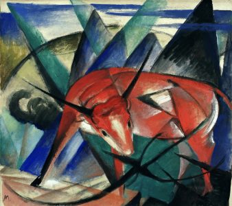Picture no: 30005842 Franz Marc / Bull / 1913 Created by: Marc, Franz