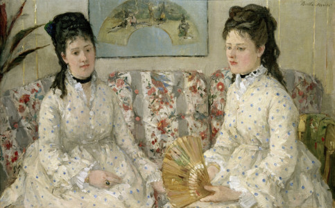 Picture no: 30005862 B.Morisot, The Sisters, 1869 Created by: Morisot, Berthe