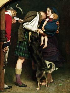 Picture no: 30005906 England 1746, The Order of Release Created by: Millais, Sir John Everett