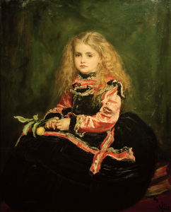 Picture no: 30005908 J.E.Millais, Souvenir of Velasquez Created by: Millais, Sir John Everett