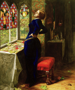 Picture no: 30005910 Tennyson, Mariana / Gem.v.Millais Created by: Millais, Sir John Everett