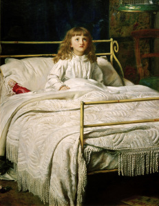 Picture no: 30005912 Millais, Waking Created by: Millais, Sir John Everett