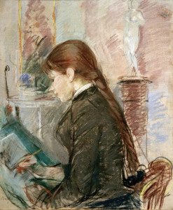 Picture no: 30005966 B.Morisot, Paule Gobillard, drawing Created by: Morisot, Berthe