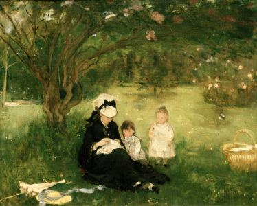 Picture no: 30005972 B.Morisot, Lilac in Maurecourt, 1874 Created by: Morisot, Berthe
