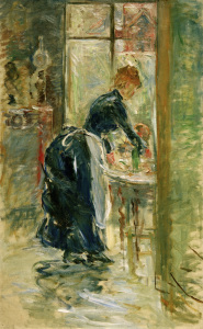 Picture no: 30005990 B.Morisot, The little servant, 1886 Created by: Morisot, Berthe