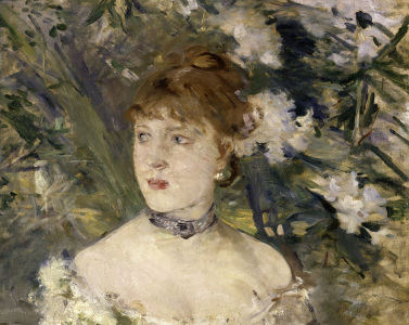 Picture no: 30006010 Morisot / Young lady in ballgown / 1879 Created by: Morisot, Berthe