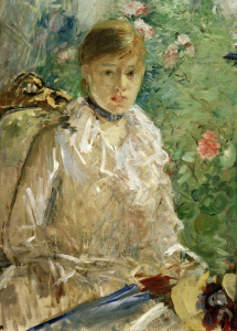 Picture no: 30006014 B.Morisot, Young woman at window(Summer) Created by: Morisot, Berthe