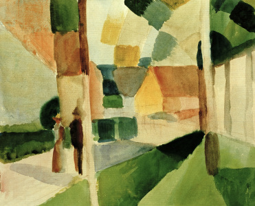 Picture no: 30006122 August Macke / Kandern I / 1914 Created by: Macke, August