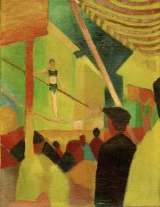 Picture no: 30006126 August Macke, Seiltänzerin Created by: Macke, August