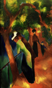 Picture no: 30006138 August Macke, Sonniger Weg Created by: Macke, August