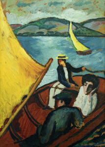 Picture no: 30006154 Macke / Sailing Boat / Lake Tegern Created by: Macke, August