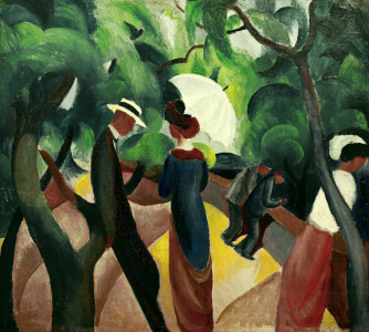 Picture no: 30006170 August Macke, Promenade Created by: Macke, August