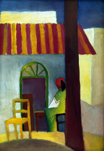 Picture no: 30006172 August Macke / Turkish Cafe I / 1914 Created by: Macke, August