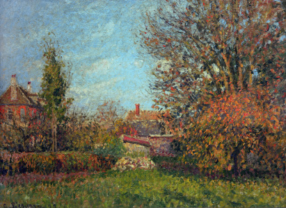 Picture no: 30006282 Pissarro / Autumn in Eragny / 1899 Created by: Pissarro, Camille