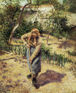 Picture no: 30006318 Paysanne...potager / Pissarro Created by: Pissarro, Camille