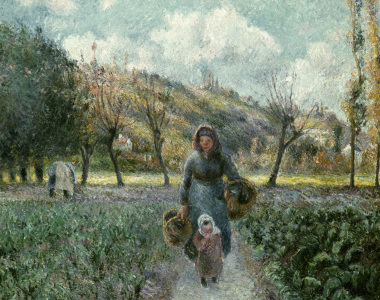 Picture no: 30006384 Pissarro/ Der Garten in Eragny Created by: Pissarro, Camille