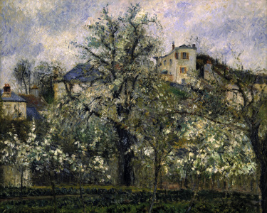 Picture no: 30006426 Camille Pissarro / Potager et arbres ... Created by: Pissarro, Camille