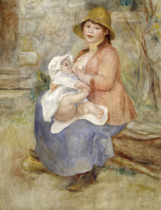 Picture no: 30006444 A.Renoir / Mother's Joy (Breastfeeding) Created by: Renoir, Pierre-Auguste