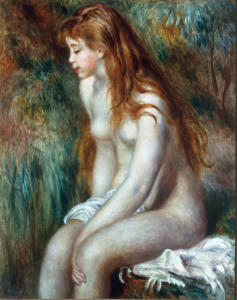 Picture no: 30006448 Renoir / Young bather / 1892 Created by: Renoir, Pierre-Auguste