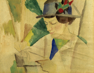 Picture no: 30006510 August Macke / Portrait of the wife Created by: Macke, August