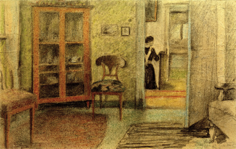 Picture no: 30006522 A.Macke, Unser Wohnzimmer..., 1910 Created by: Macke, August