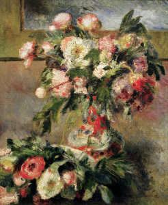Picture no: 30006576 Renoir / Peonies / 1878 Created by: Renoir, Pierre-Auguste