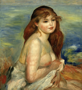 Picture no: 30006604 Renoir / Bather / 1884/85 Created by: Renoir, Pierre-Auguste
