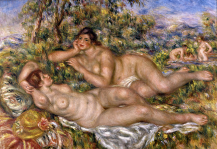 Picture no: 30006606 A.Renoir / Bathers / 1918-19 Created by: Renoir, Pierre-Auguste