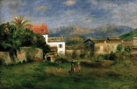 Picture no: 30006608 Renoir / View near Cagnes / 1903/05 Created by: Renoir, Pierre-Auguste