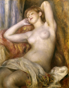 Picture no: 30006616 Renoir / Sleeping woman / 1897 Created by: Renoir, Pierre-Auguste