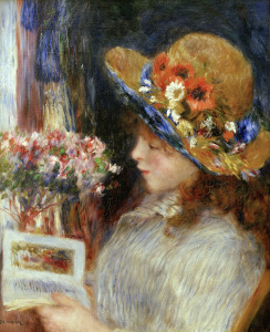Picture no: 30006618 Renoir / Girl reading / 1880 Created by: Renoir, Pierre-Auguste