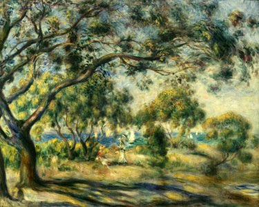 Picture no: 30006626 Renoir / Noirmoutier / 1892 Created by: Renoir, Pierre-Auguste