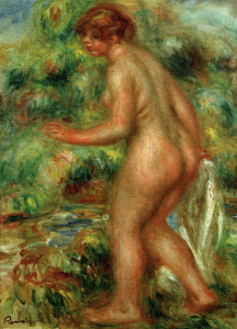 Picture no: 30006640 A.Renoir, Badende Created by: Renoir, Pierre-Auguste