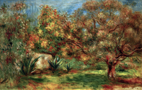 Picture no: 30006648 Renoir / Olive garden / c.1907-12 Created by: Renoir, Pierre-Auguste