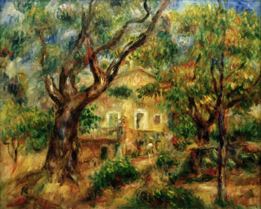 Picture no: 30006650 A.Renoir, La Ferme aux Collettes Created by: Renoir, Pierre-Auguste
