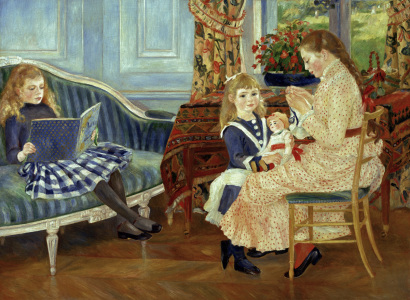 Picture no: 30006662 Renoir /Afternoon of the children /1884 Created by: Renoir, Pierre-Auguste