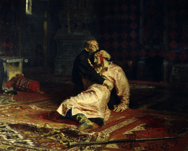 Picture no: 30006670 Ivan the Terrible & Son / I. Repin 1885 Created by: Repin, Ilja Jefimowitsch