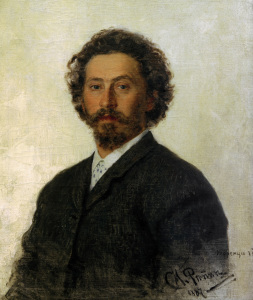 Picture no: 30006674 Ilja Repin, Selbstbildnis 1887 Created by: Repin, Ilja Jefimowitsch