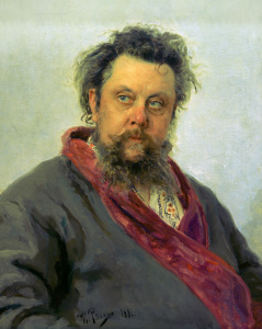 Picture no: 30006682 Mussorgsky / Portr.by Repin / 1881 Created by: Repin, Ilja Jefimowitsch