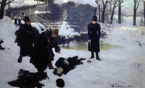 Picture no: 30006710 Pushkin, Eugen Onegin / Pai.b.Repin Created by: Repin, Ilja Jefimowitsch
