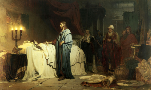 Picture no: 30006718 Repin, Resurrection of Jairus' Daughter Created by: Repin, Ilja Jefimowitsch