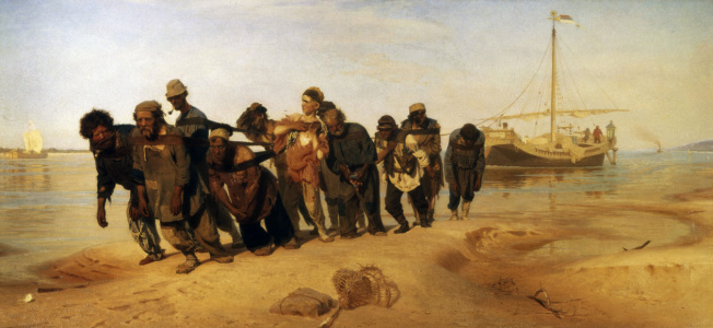 Picture no: 30006724 Ilya Repin / Barge Haulers of the Volga Created by: Repin, Ilja Jefimowitsch