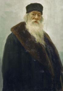 Picture no: 30006772 Vladimir Stasov / painting by Repin. Created by: Repin, Ilja Jefimowitsch