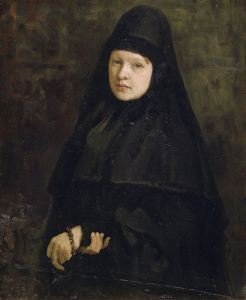 Picture no: 30006798 I.Repin, Die Nonne Created by: Repin, Ilja Jefimowitsch