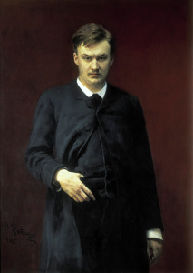 Picture no: 30006820 A.K.Glazunov / painting by Repin. Created by: Repin, Ilja Jefimowitsch