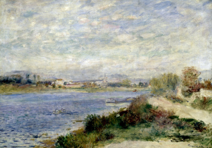 Picture no: 30006866 Renoir / The Seine at Argenteuil /c.1873 Created by: Renoir, Pierre-Auguste